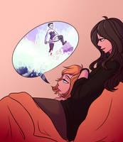 Roomie Tells A Story by zwienzixes-draws