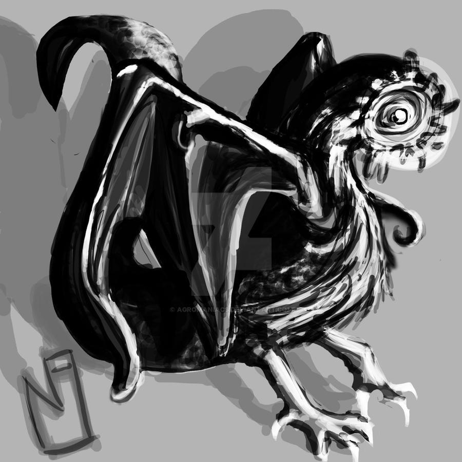 SnakeHydraWormHarpy by Agromaniacs