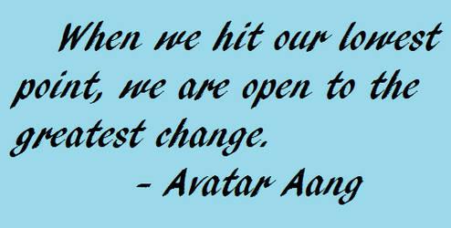 Aang Quote- LoK Season 1 Finale