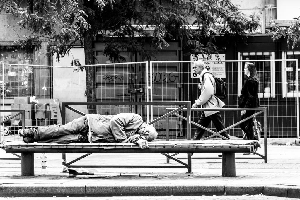 Walking By Poverty by RaeymaekersP
