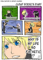 Cloud Strife: My Life Sucks by luzzy