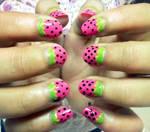 Strawberry Nails