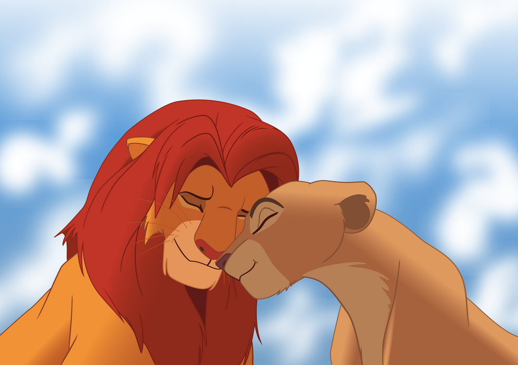 Simba and Nala by KIIR93 on DeviantArt