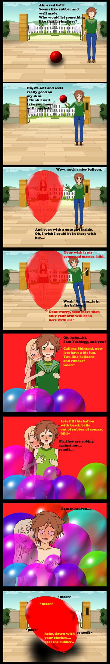 yoshiegg meets Shintani by AiblisTheBig