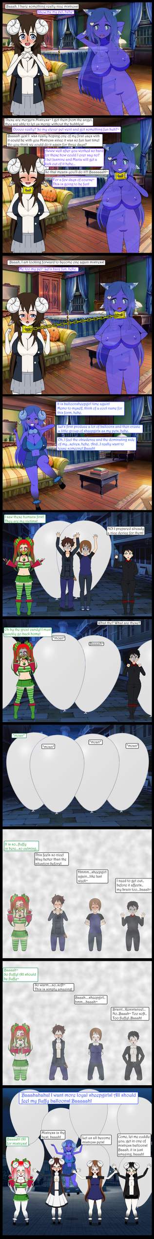 Return of Balloonsheepgirl by AiblisTheBig