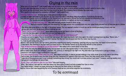 Crying in the Rain by Sheepy-Drackzahn