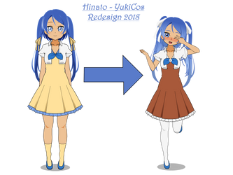 Hinato Yukicos - Redesign