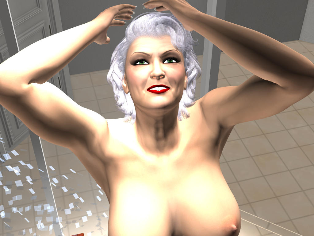 Granny In The Shower 18