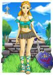 The Legend of Zelda by EdwardsDigitalStudio