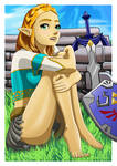 The Legend of Zelda 3 by EdwardsDigitalStudio