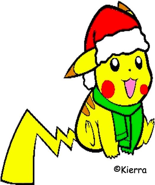 Pikachu Christmas by PeachKirbyCutie on DeviantArt