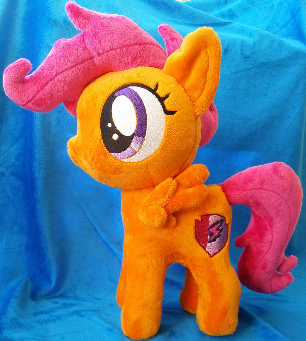 Scootaloo My Little Pony Plush By Oneofakindplush On Deviantart Scootaloo my little pony perler bead pattern / bead sprite. scootaloo my little pony plush by
