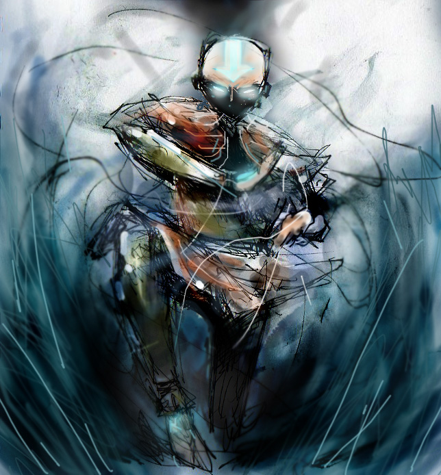 Movie Avatar State Aang: AVATAR STATE By Fuelreaver On DeviantArt