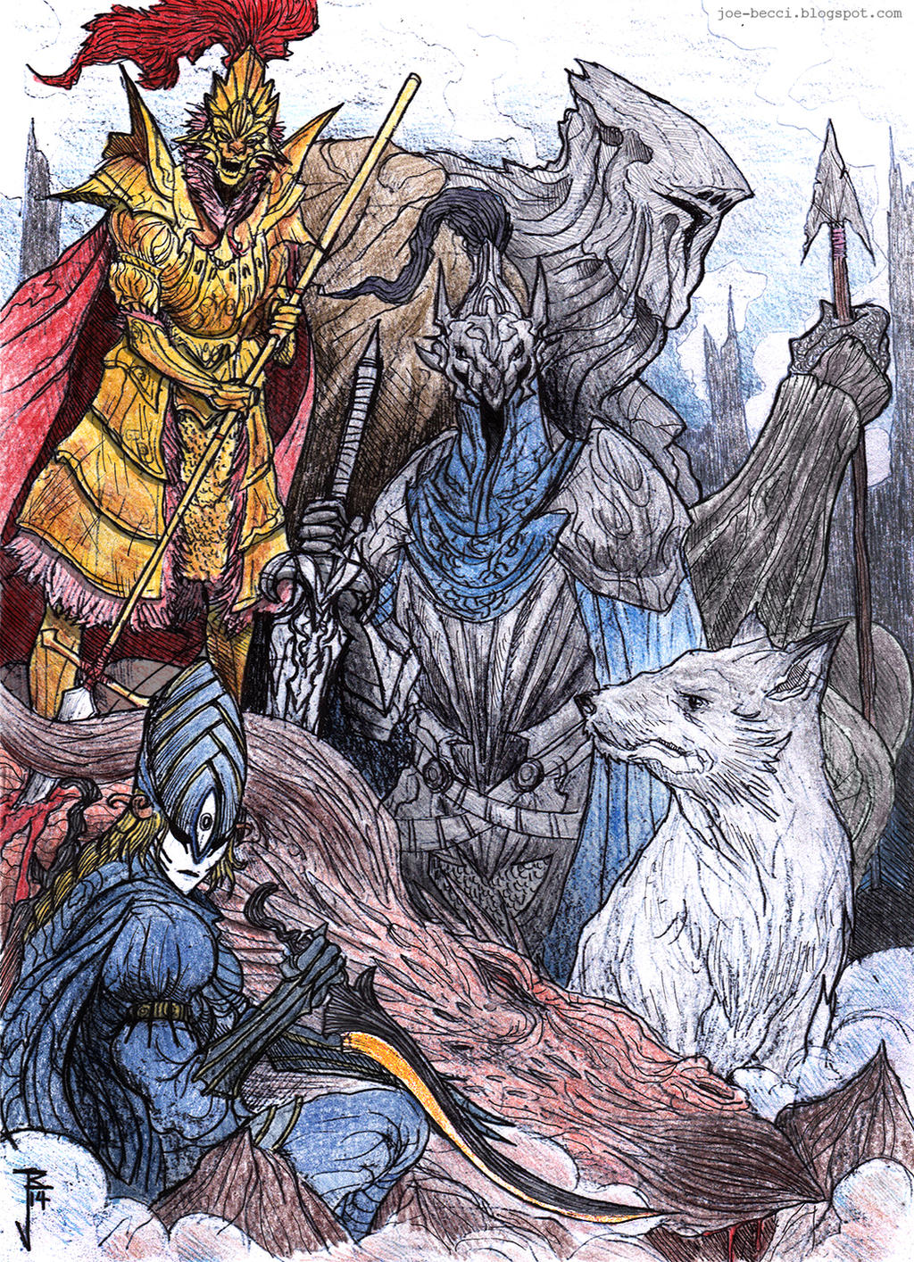 The Old Dragonslayers by Fuelreaver