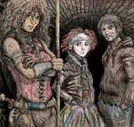 Neverwhere - Hunter, Door and Richard