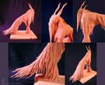 ~:{ Endai }:~ Islaad Sculpture - Unpainted