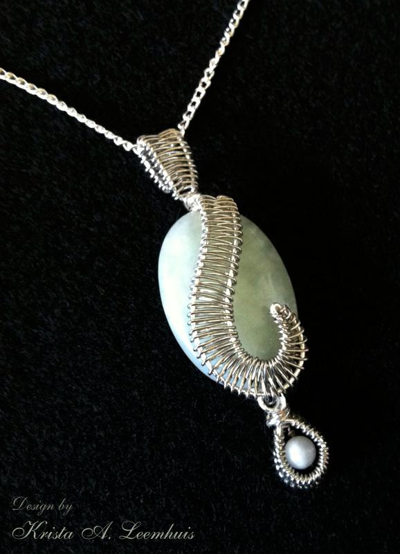 Jade Pendant by krazykrista