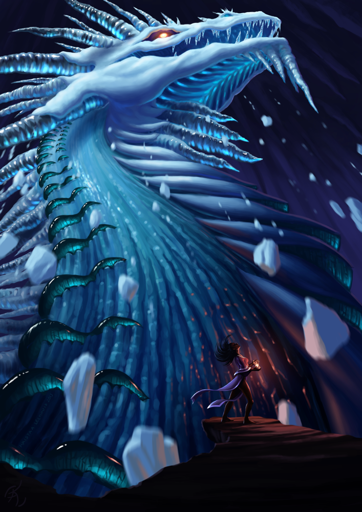 Summoning the Ice Lord by krazykrista