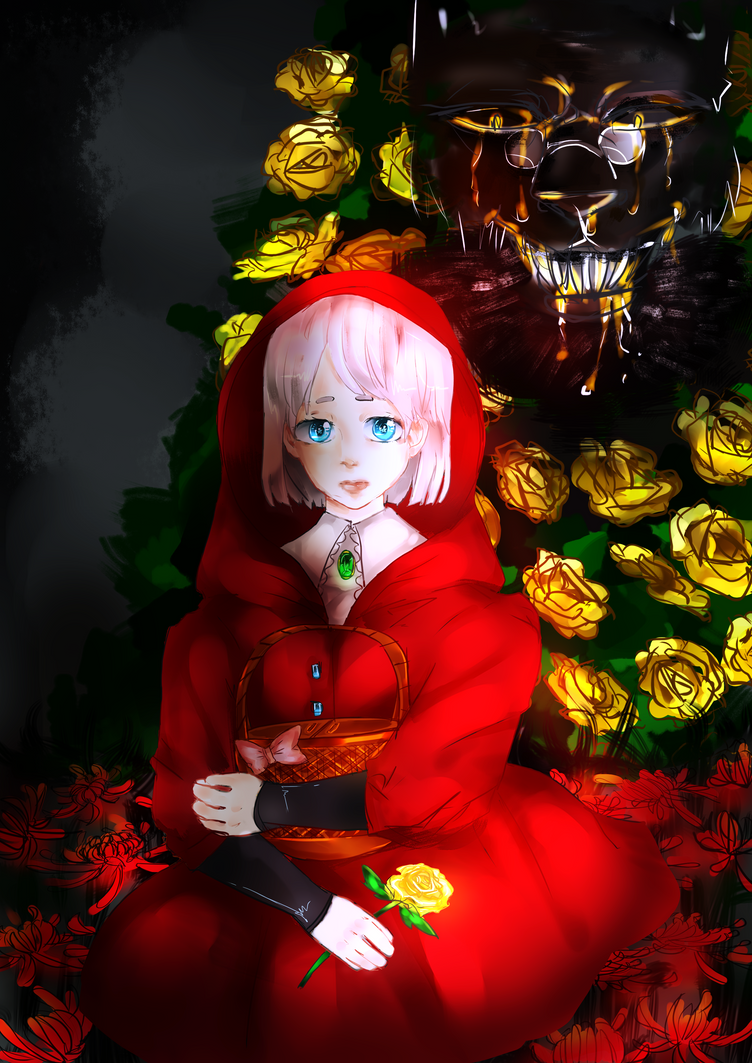 Red Riding Hood - Hunger by axon-prussic