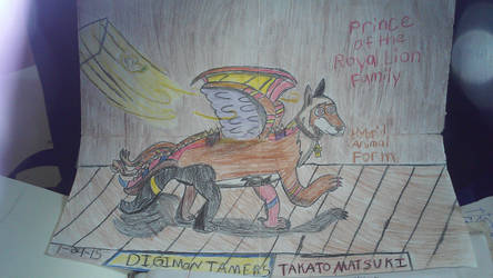 takato's hybrid form by guardiancreation