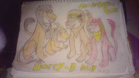 happy b-day An-Angels-Tears by guardiancreation