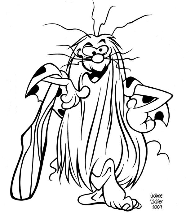 caveman coloring pages - photo#13