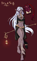 .:Pathfinder:. HECATE the Witch by Kujjles