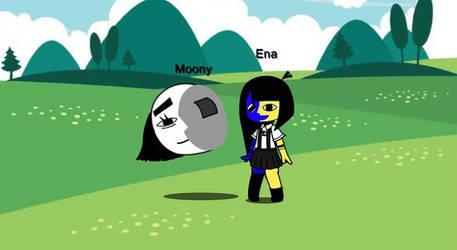 Gacha Club Ena And Moony by FellarJavenn