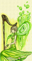 harp by koyamori