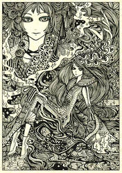 will-o'-the-wisp by koyamori