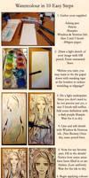 10 Step Watercolour