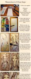 10 Step Watercolour by koyamori