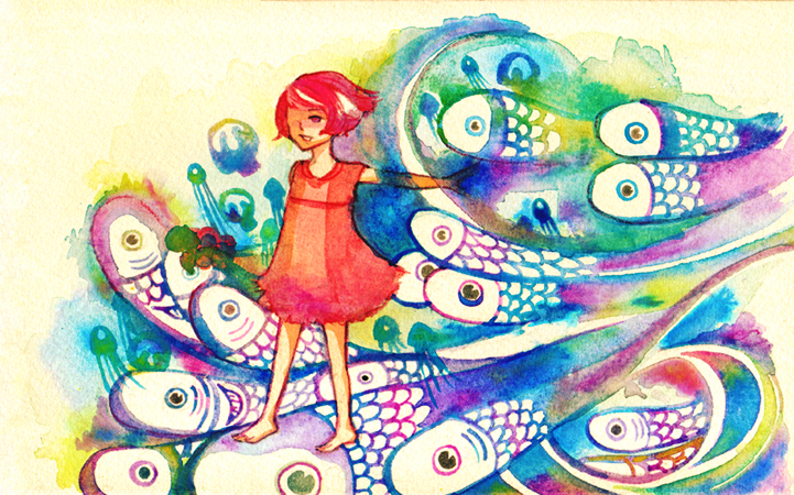 ponyo by the sea by koyamori