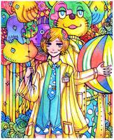Trapeze: circus by koyamori
