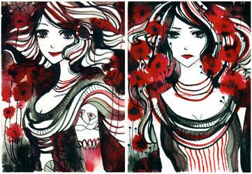 poppies by koyamori