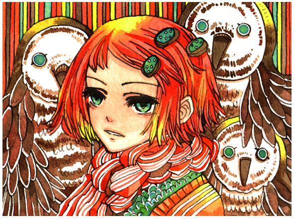 barn owls by koyamori