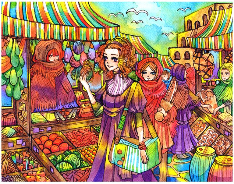 market by koyamori
