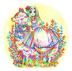 alpaca by koyamori