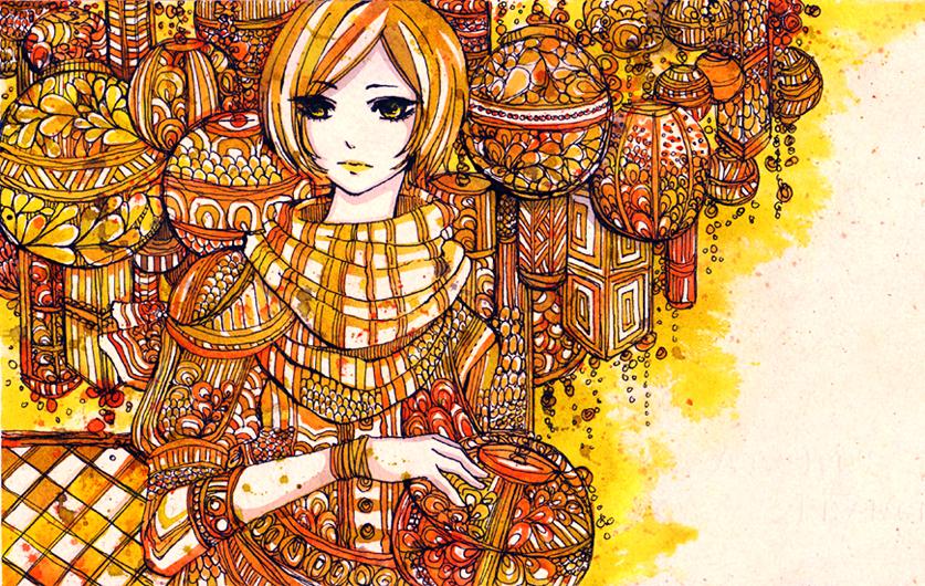 lanterns by koyamori