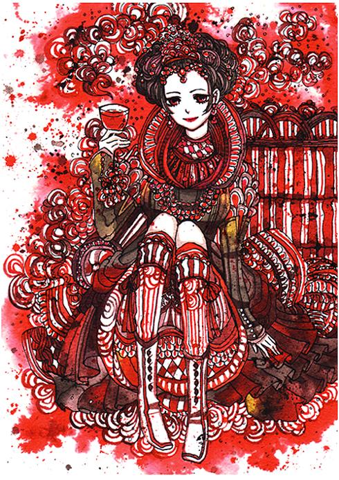 vampire queen by koyamori