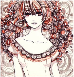 wreath girl