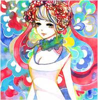 rose souffle by koyamori