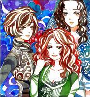 trio by koyamori
