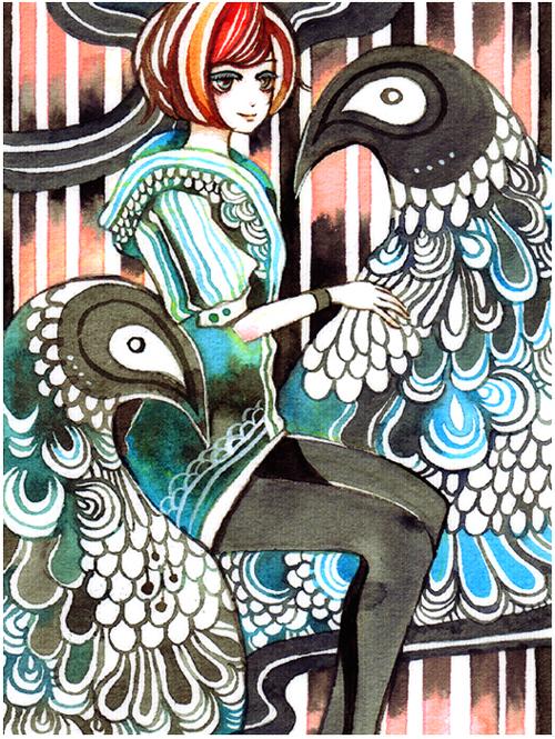 twin penguin by koyamori