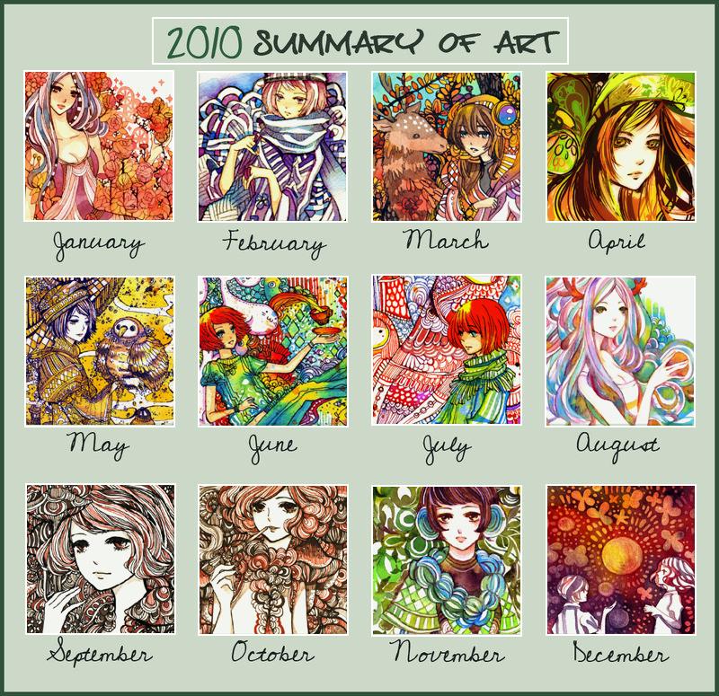2010 Summary of Art by koyamori