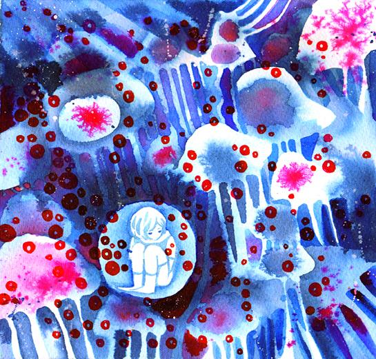 bubble fish by koyamori