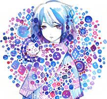 button no.2 by koyamori