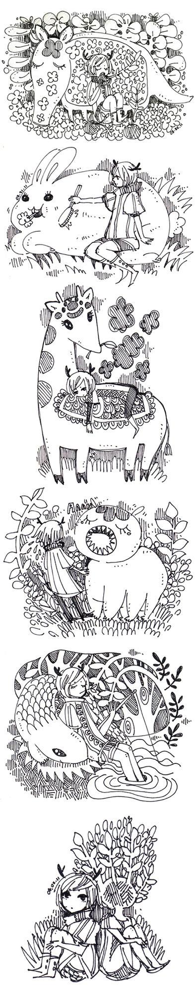 sketch dump by koyamori