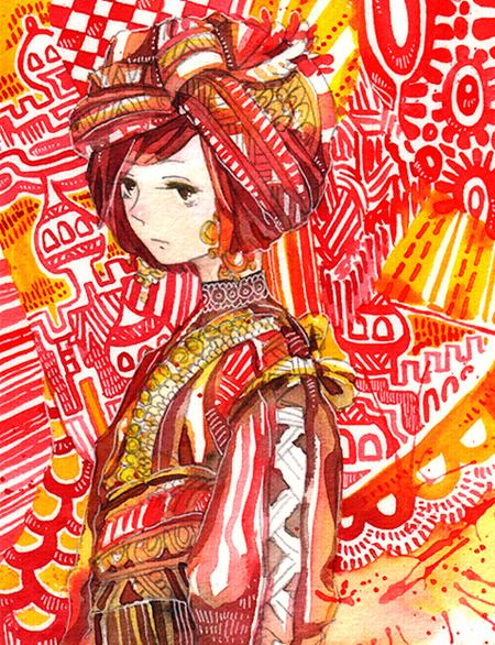 textiles by koyamori