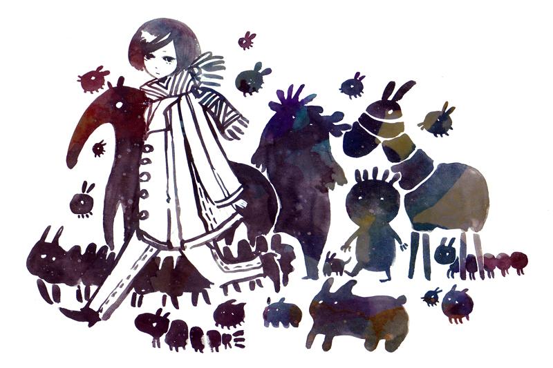 ink organisms by koyamori